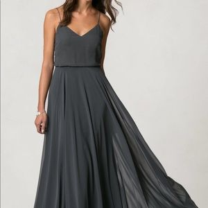NWT Jenny Yoo Inesse gown — Storm
